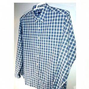 Polo by Ralph Lauren men's XL plaid shirt